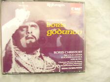 TRIPLE CD BORIS GODUNOV MUSSORGSKY ISSAY DOBROWEN  n/m at least