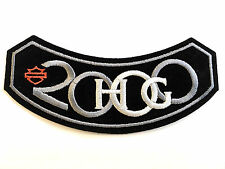 HOG 2000 Harley Owners Group Members Patch Harley-Davidson NEW! Fast Ship!