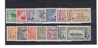 Falkland Islands 1952 set to £1 MLH