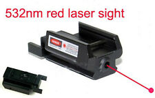 Laser rouge Scopes for PISTOLET Glock 17 19 20 21 22 23 30 31 32 rail Weaver