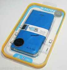Bavin Premium Leather Case With Front Back Screen Protector For Apple iPhone 5