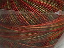 Lizbeth Cordonnet 100% Egyptian Cotton Thread -Size 40 Color 136 Autumn Spice