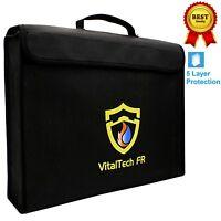 VitalTech FR Fireproof Document Bag