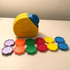 Vintage Fisher Price Counting Cookie Jar Sorting Toy Complete Set Learning 1990