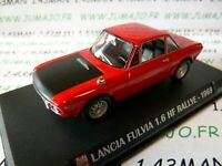 AP38N Voiture 1/43 IXO AUTO PLUS : LANCIA FULVIA 1.6 HF rallye 1969