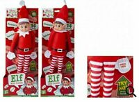 12 Inch Red Naughty Elf Boy & Girl With Sound Elves Behaving Badly Christmas