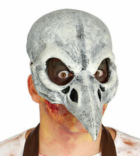 Bird Beak Plague Doctor Mask Costume Foam Latex Halloween Gothic Steampunk