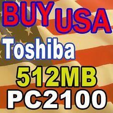 512MB Toshiba Satellite 1900-UWN 1905-S303 MEMORY RAM