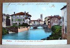 Padova - il Bacchiglione al Ponte S.Giovanni [piccola, colore, viaggiata]