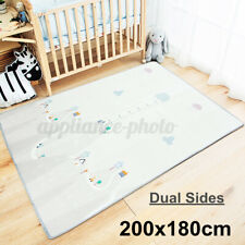Non-Slip Baby/'s Room Carpet Adventure Game Play Mat Child Crawling Rug Family GB