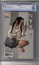 NYX 4 CBCS 9.2 White Pages - Second Appearance X-23