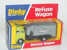 Dinky 978 Bedford Refuse Wagon Bin Lorry - Ex Shop Stock