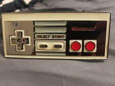 Nintendo NES Belt Buckle with Leather Belt - NEW UNWORN