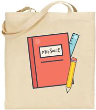 Tote Bag - Teachers Gift - Personalised Teachers Book