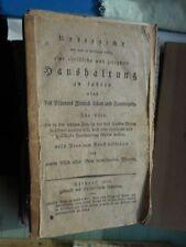 1800-1849 Originale Deutsche Antiquarische Bücher für Gesellschaft & Politik