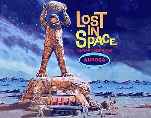 Aurora Lost In Space 1965 Cyclops Chariot Bumper Sticker or Fridge Magnet