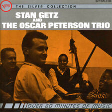 Gently Used CD Stan Getz and The Oscar Peterson Trio Silver Collection