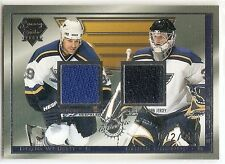03/04 PACIFIC LUXURY SUITE DUAL GAME JERSEY #46 Doug Weight/Chris Osgood #72/650