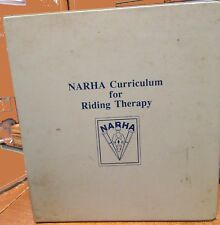 1991 Narha Curriculum For Horse Riding Therapy Complete Manuel Rare!