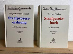Set Meyer-Goßner StPO 2020 & Fischer StGB 2020 Kommentare ohne Anmerk. mit RE