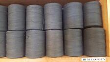 Rug Warp- Lot of 10 (1/2 lb ea.)- Cotton/Polyester Blend- Color Hunter Green