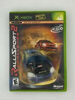 Rallisport Challenge 2 - Original Xbox Game - Complete & Tested