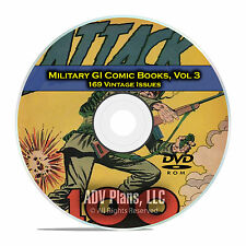 Military, Submarine Attack, Captain Aero Comics, Golden Age Comics DVD D14
