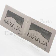 """2 x ORIGINAL MERCEDES Aufkleber Sticker """"ALARM"""" W124 W126 R129 W201 W140 W208"""