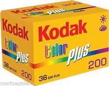 Pellicules photo Kodak neuves Lot neuf 12 film 36 poses 200 couleur stock France