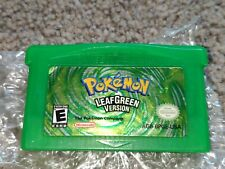 Pokemon LeafGreen Leaf Green Nintendo GBA GameBoy Advance Genuine Original US En