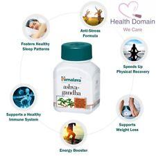 Ashwagandha 60 Vegan Capsules Stress Relief Energy Boost Supplement - UK STOCK