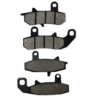 2 Pairs Front & Rear Brake Pads for Suzuki DR 650 1990 1991 1992 1993 1994 1995