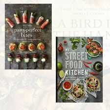 Party-perfect Bites & My Street Food Kitchen Collection 2 Books Set