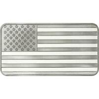 10oz USA Sealed In Plastic Silver Bar .999 silver - with free shipping -