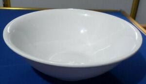BridgWood Antique White Ironstone Bowl ~ SERVING BOWL ~  VGC