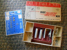 Old Vintage Dritz Laundryproof Dot Snappers Kit No Sewing Easy to Attach at home