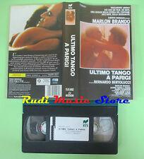 VHS film ULTIMO TANGO A PARIGI 1991 Marlon Brando TITANUS 128 minuti(F63)*no dvd