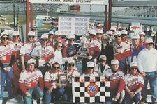 1992 Jeff Gordon Baby Ruth Ford Atlanta Win NASCAR NBS Numbered postcard