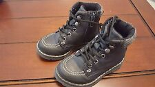 Toddler boy H & M H&M navy boots fall casual hiking fashion 7.5