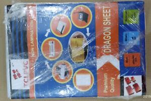 TCLPVC Dragon Sheet Pvc ID Card Identity Card Make Non Lamination Sheet