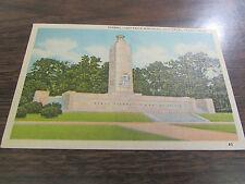 VINTAGE - ETERNAL LIGHT PEACE MONUMENT  IN GETTYSBURG PA  POST CARD - VG