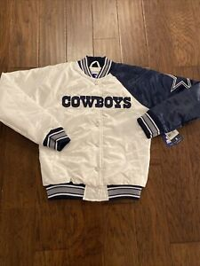 NWT Dallas Cowboys Starter End zone Secondary Jacket Women's Small