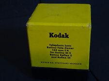 Kodak Rétine TELE XENAR f:4/135 mm for Rétine IIIS/R Reflex S excellent! en boîte