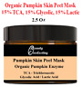 Pumpkin Peel 15%TCA 15% Glycolic 15% Lactic Face Mask Chemical Peel.Made in US