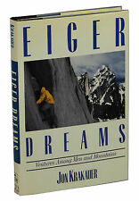 Eiger Dreams by JON KRAKAUER ~ First Edition 1990 ~ 1st Book ~ Mountain Climbing