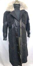 Black Persian Lamb Stroller Cerulean Mink Collar #8116~Mint Condition~Vintage
