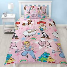 Toy Story Jessie Buzz Lightyear Personalised pink Bedding Duvet cover Movies