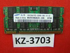 Samsung M470T2953EZ3-CE6 Notebook 1GB Arbeitsspeicher (667 MHz, DDR2)