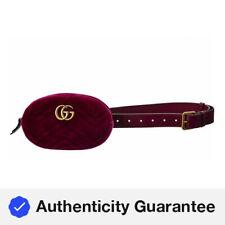 Gucci Gg Marmont Velvet Belt Bag Women's  85