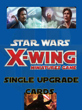 50% OFF! X-Wing Miniatures Game- Upgrade Cards CREW CARDS 50% OFF!